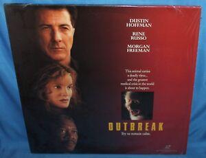 Outbreak 1995 Laserdisc Warner Bros Home Video Laser Disc 2 Disc 85391363262 Ebay