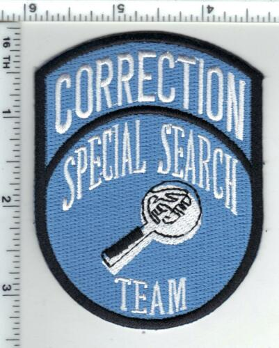 New York City Department of Corrections Special Search Team Shoulder Patch