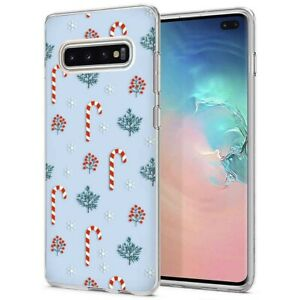 Galaxy Phone Case PAT0149 Christmas Candy Candy Cane Peppermint