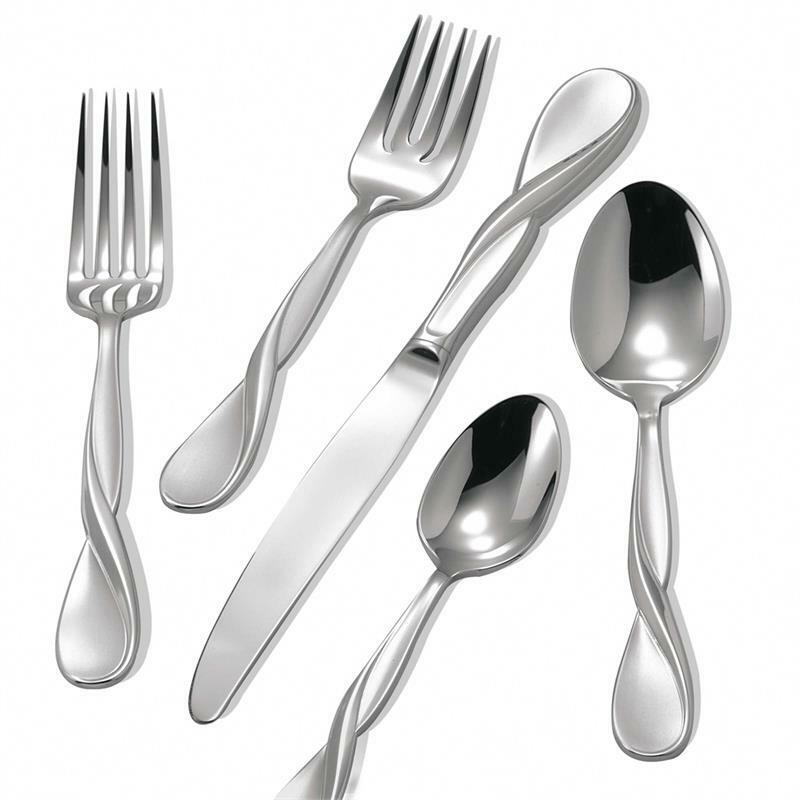 Oneida Satin Aquarius  40Pc Place Setting servive for for for 8 0b992c