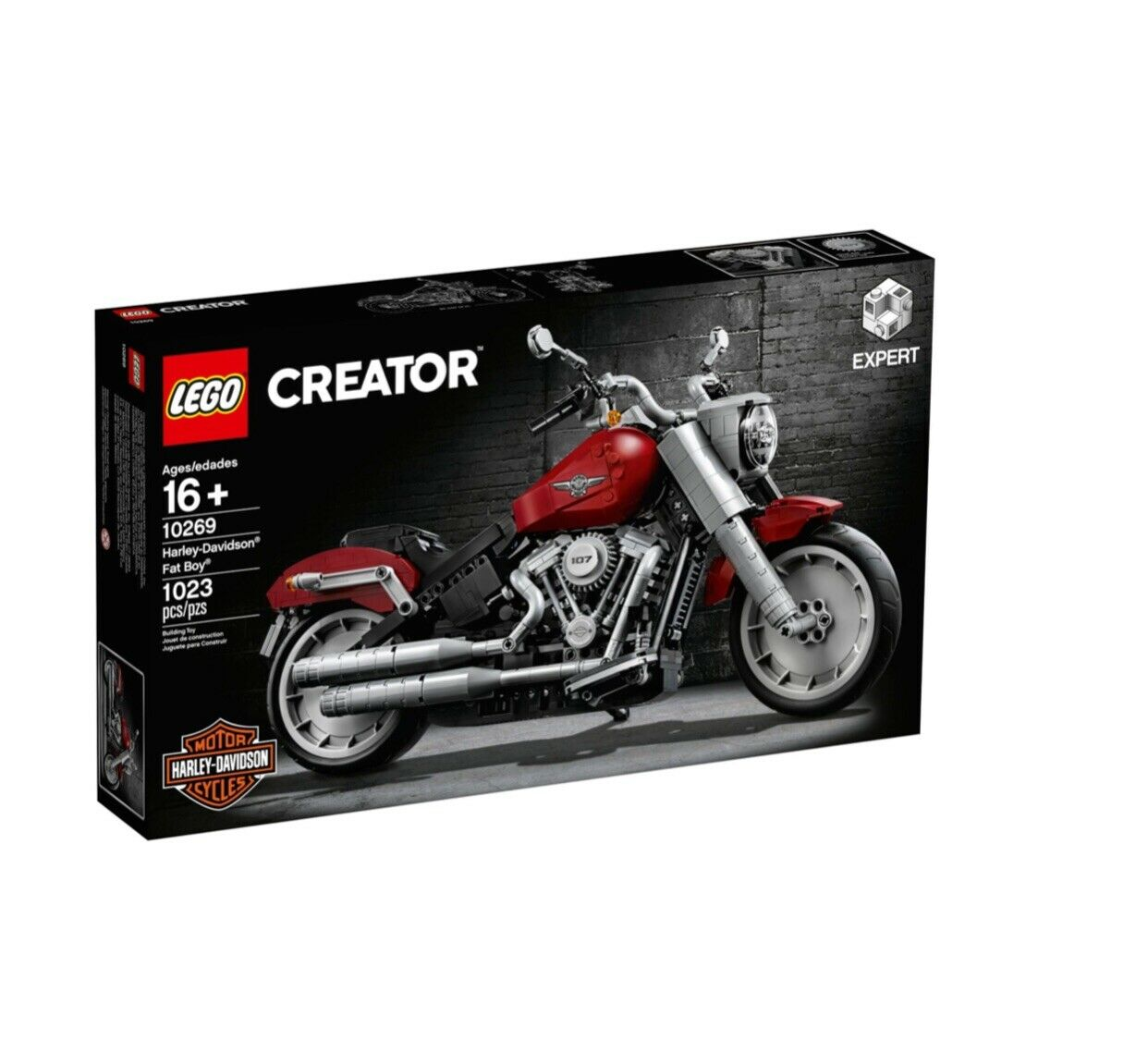 LEGO CREATOR 10269 Harley - Davidson Fat Boy VIP Release Brand New And Sealed