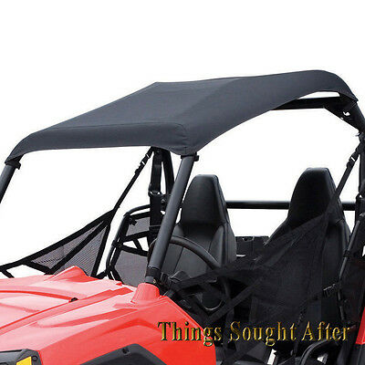 BLACK OS CANVAS ROOF TOP 2017 /& 2018 POLARIS RANGER XP 900 1000 EPS DIESEL /& HST