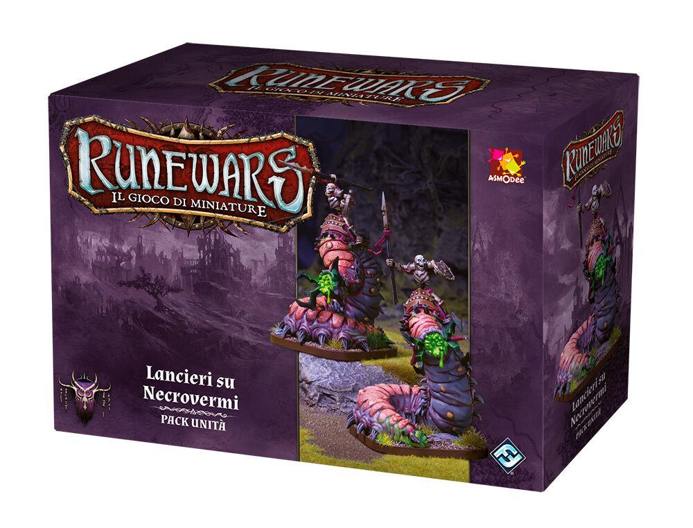 Runewars das Spiel der Miniaturansichten Pack Einheit Lanzenreiter auf