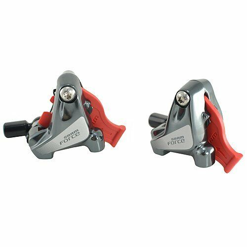 SRAM Force22  Force1 Complete Flat Mount Caliper Assembly 18mm (Front+Rear)