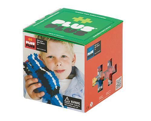 Neu Plus-Plus® Bausteine Mini Basic 600 Konstruktion Kleinkinder Spiel!129