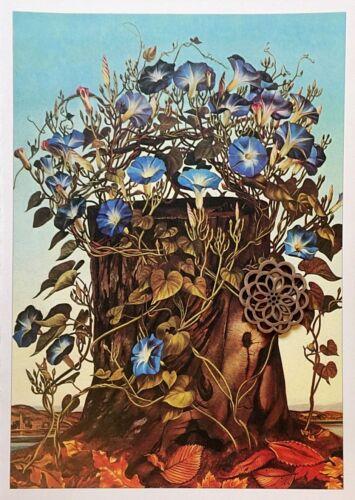 VTG 1977 Botanic Art Print Poster Ready to Frame Pop Art **SEE VARIETY