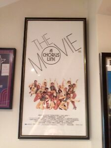 A-Chorus-Line-Aussie-Daybill-Movie-Poster-Framed-Excellent-Condition