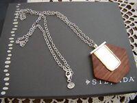 Silpada Sterling Silver, Wood wildwood Necklace N3305