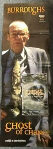 WILLIAM-BURROUGHS-PUBLICITY-PROMOTIONAL-EXTRA-TALL-GHOST-OF-CHANCE-POSTER-1995