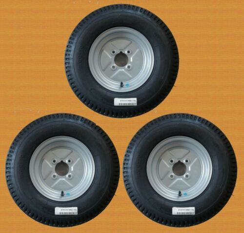 """6PLY 4/"""" PCD 4 STUD NEW ITEMS 3 OF 500 X 10 TRAILER WHEELS"""