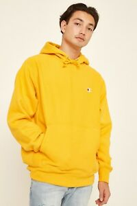 Weave Hoodie Reverse With In Logo Yellow Gold Small Champion 54PqU6n