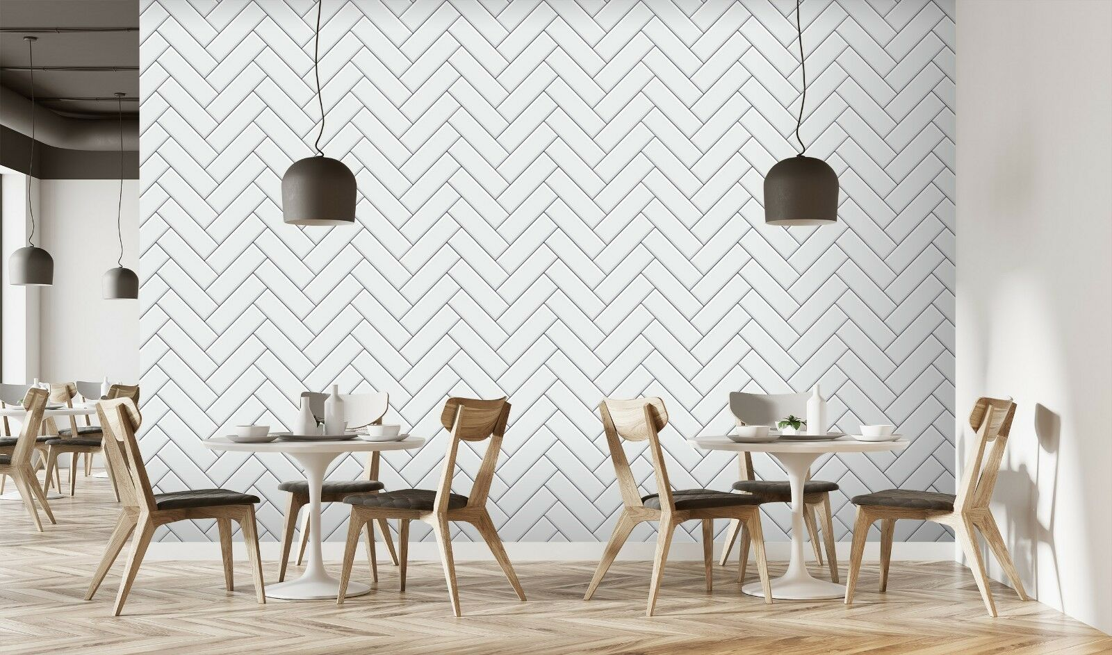 3D Scheint Weiß Ziegel 2 Textur Fliesen Marmor Tapete Abziehbild Tapete Wandbild
