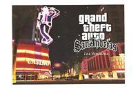 Grand Theft Auto San Andreas Postcard Rockstar Games Gta Las Venturas Rare Promo