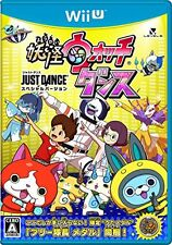 Wii U Yo-kai Watch Dance Just Dance Special Version Level5 from Japan New F/S