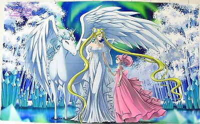 Sailor Moon Anime Manga Badetuch Strandtuch Handtuch 150x90cm Polyester Neu Modern Und Elegant In Mode
