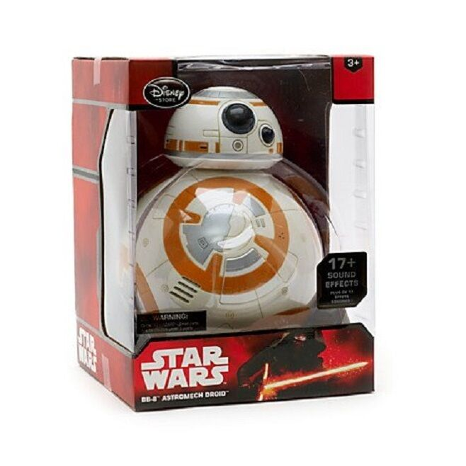 OFFICIAL STAR WARS :THE FORCE AWAKENS BB-8 INTERACTIVE TALKING FIGURE   - New