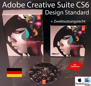 Adobe Creative Suite CS6 Design Standard Box + CD 2 Mac Vollversion ...