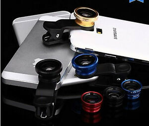 3in1 180 FishEye Wide Angle Micro Photo Lens Zoom Camera Kit for latest popular