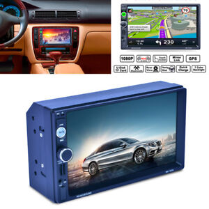 2Din-TFT-Touchscreen-Auto-GPS-Navigation-MP5-Bluetooth-Radio-Player-Europa-Karte