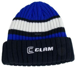 9f3af992f0991e NEW Ice Armor Clam Knit Stocking Cap Black/Blue/White 12682 ...
