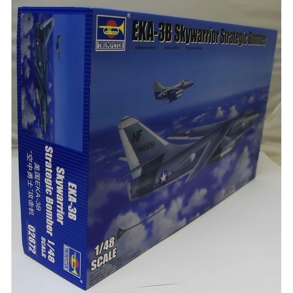 Trumpeter 1 48 02872 EKA-3B Skywarrior Airborne Tanker Model Aircraft Kit
