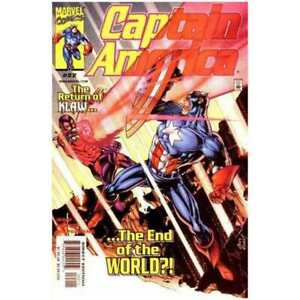 Captain-America-1998-series-22-in-Near-Mint-condition-Marvel-comics-0n