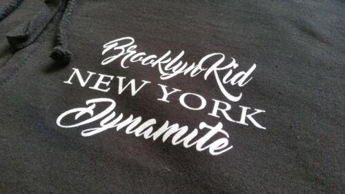 Brooklyn Kid M3 Zipper schwarz Iron Mike Tyson,Holyfield,Boxen,Kult,Fight,KO