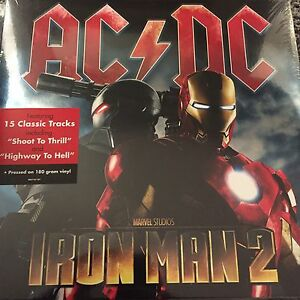 AC-DC-039-Marvel-039-s-Iron-Man-2-039-Soundtrack-2-x-180gram-Vinyl-LP-BRAND-NEW-amp-SEALED