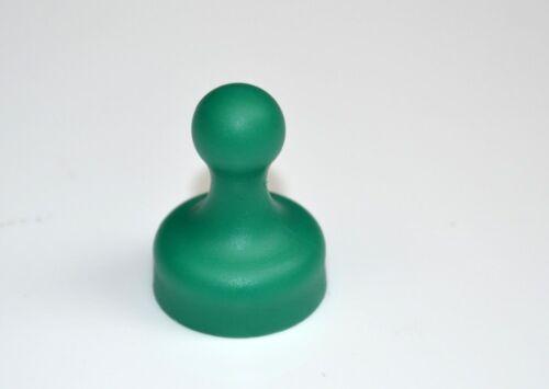 Kegel Pinnwand Magnet groß Ø 19 x 25mm grün 2,3kg Neodym 10 x Kegelmagnet