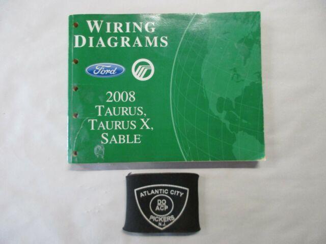 2008 Ford Taurus X Mercury Sable Electrical Wiring