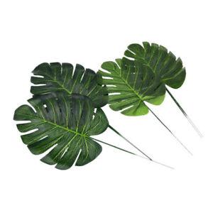 Tige feuille palmier artificielle d coration tropicale - Feuille de palmier artificielle ...
