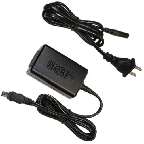 Hqrp Cargador de ca para Sony Handycam DCR-TRV110 DCR-TRV250 DCR-TRV280
