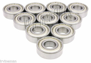 10 Ball Bearing 21009 12mm x 28mm x 8mm Sealed Bearings