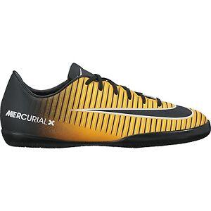Nike Mercurial X Victory Xi Ic Indoor Soccer Shoes 2017 Orange Black