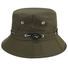 90e816ede5c Men Boonie Bucket Hat Cap Cotton Fishing Military Hunting Safari Summer  Outdoor