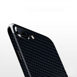 official photos 5be4a 535ae Details about Clear Thin 3D Full Carbon Fiber Back Sticker Film Protector  for iPhone 6- 7 Plus