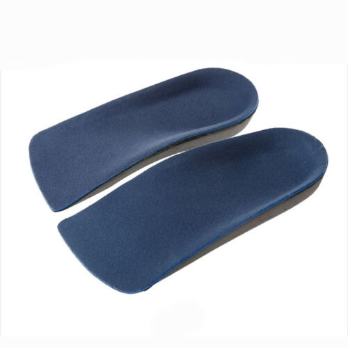 3//4 Plantar Fasciitis Heel Fallen Arches Flat Feet Orthotic Arch Support Insoles