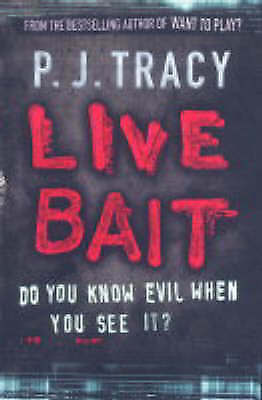 """""""AS NEW"""" Tracy, P. J., Live Bait: Monkeewrench Book 2 Book"""