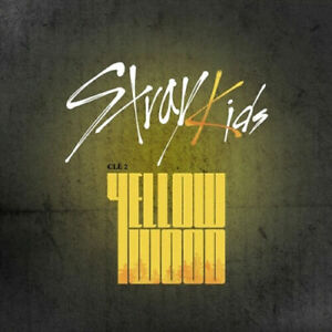 STRAY-KIDS-CLE-2-YELLOW-WOOD-Album-NORMAL-2VerSET-POSTER-Book-Card-PreOrder-GIFT