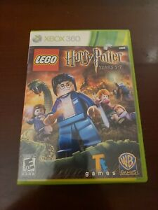 LEGO Harry Potter: Years 5-7 Microsoft Xbox 360 2011 Tested Works.