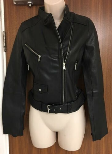 Real Size Motorcycle Zara Xsmall Jacket Leather d7adw1fqIx
