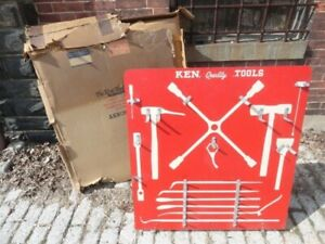 The Tool Store >> Details About 1950 S Ken Quality Tools Store Tool Display Rack 36 X 35 1 2 New With Box