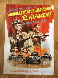 Himmelfahrtskommando-El-Alamein-A0-Kinoplakat-68-Joachim-Fuchsberger