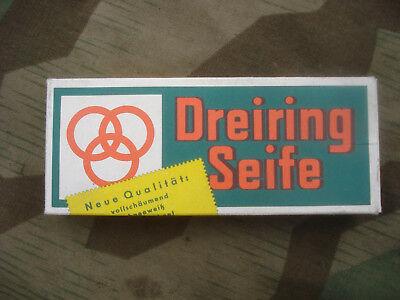2 x Stück Kernseife Wehrmacht Dreiring soap Seife D-Day Westwall Luftwaffe