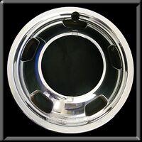 1 Front 2003-17 Dodge Ram 3500 17 Chrome Dually Wheel Simulators Rim Trim Cover