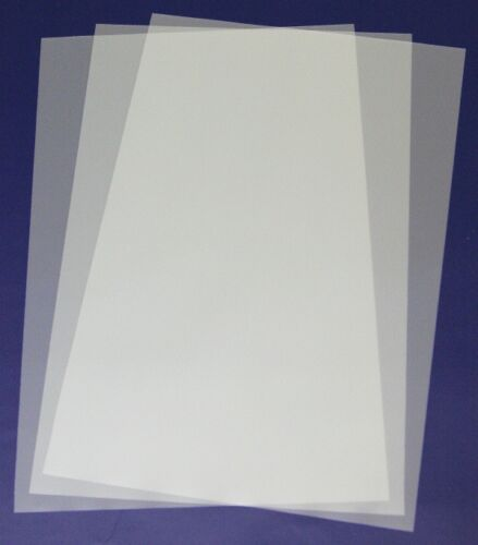 457x305 mm Blank Mylar sheets transparent 0,125mm set of 4 pieces A3 size