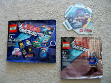 The LEGO Movie - Exclusives 5002041 6082514 & Emmet Wyldestyle 3D