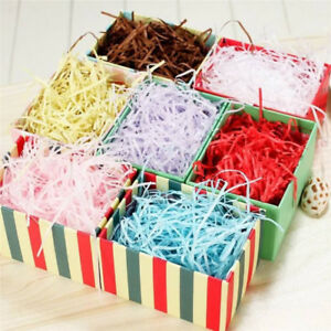 Details About 18 Colors Shredded Crinkle Paper Confetti Filling Material Diy Gift Box Decor