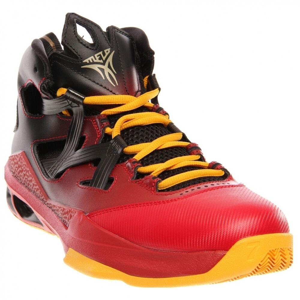 Nike Air Jordan Melo M9  Carmelo Anthony Black Metallic Gold US 10.5 /
