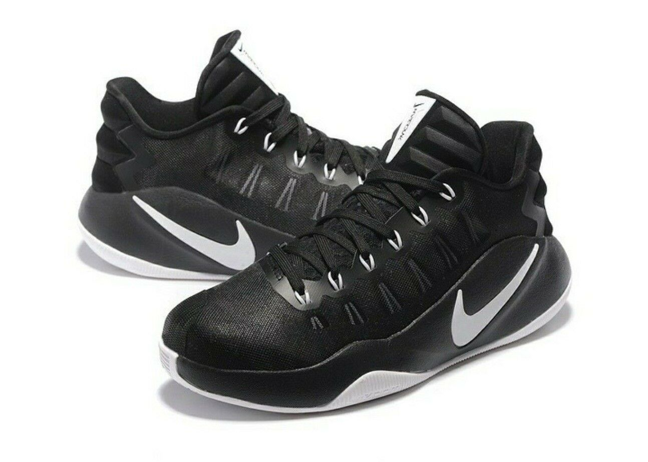 New NIKE Hyperdunk 2018 Low Men's Basketball Shoes Black 844363 001